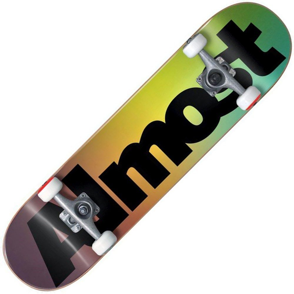 Buy Almost Black Skateboard Complete Deck
