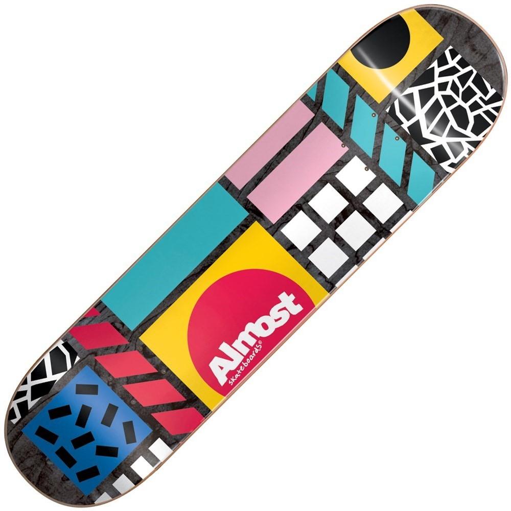 Buy Almost New Wave Black 8inch Skateboard Deck