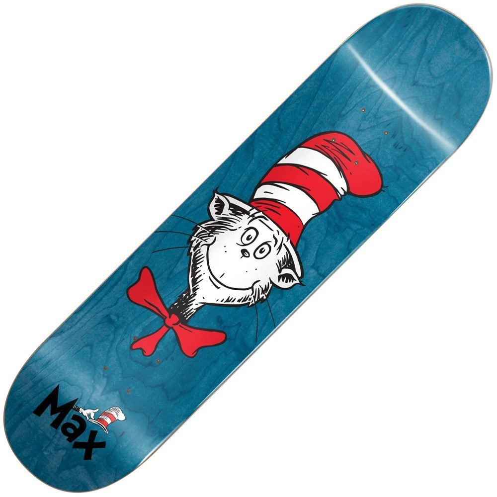 Buy Almost Max Geronzi Dr Seuss Cat Face 8.25inch Skateboard Deck