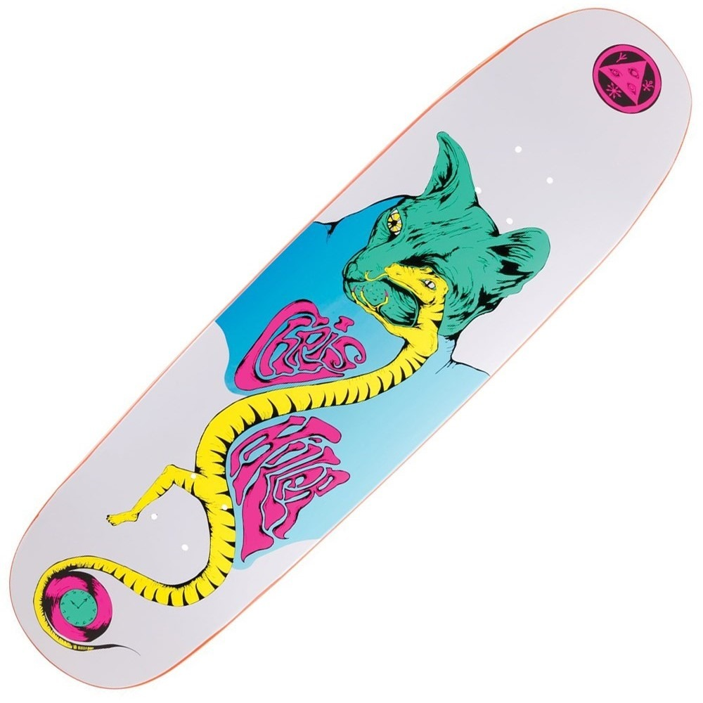 Buy Welcome Chris Miller Lizard Eye Skateboard Deck.- Decked Out