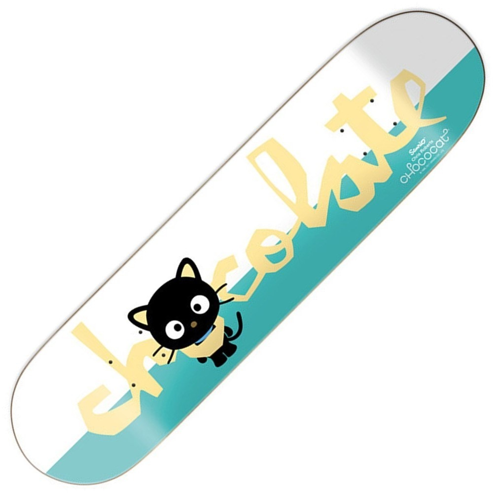 Buy Chocolate Chris Roberts Sanrio Skateboard Decks. Griptape, Hardware, Clothing And Footwear From The Best Skateboards Brands Out There - Decked Out