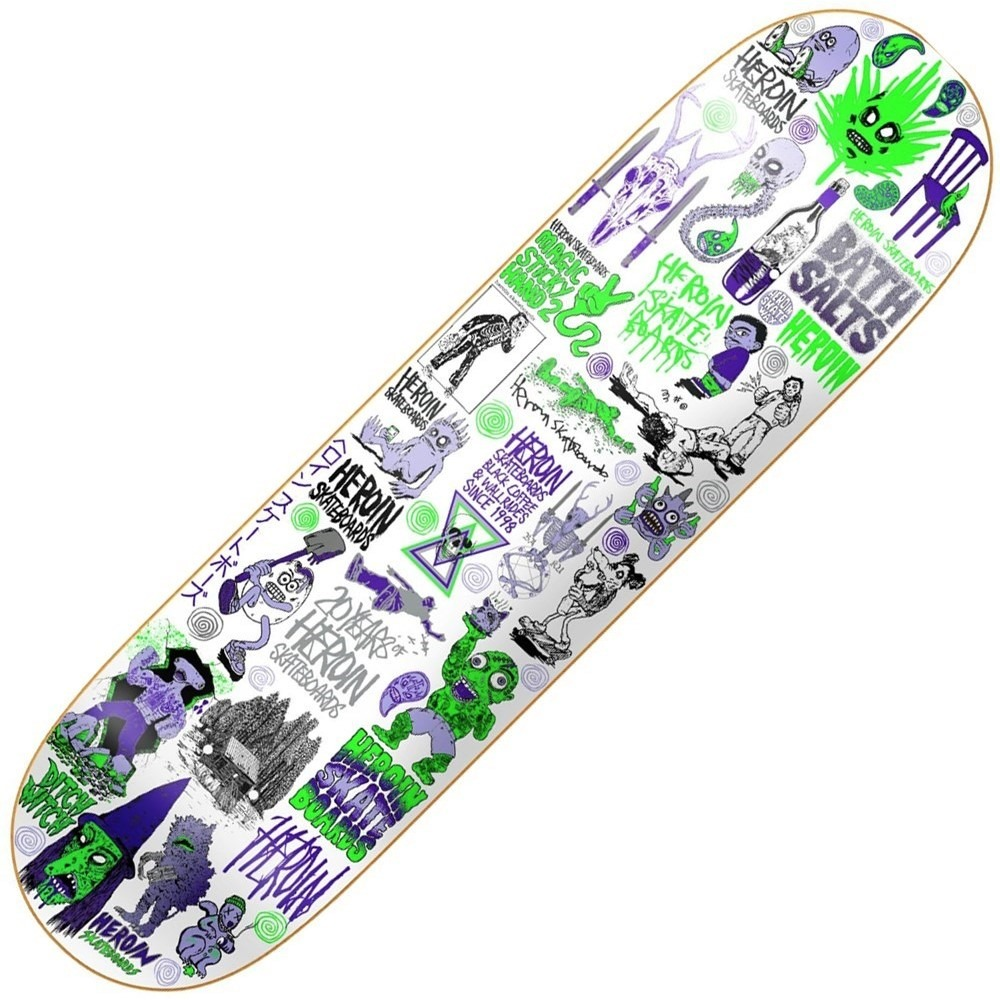 Buy Heroin 20 Years Skateboard Deck