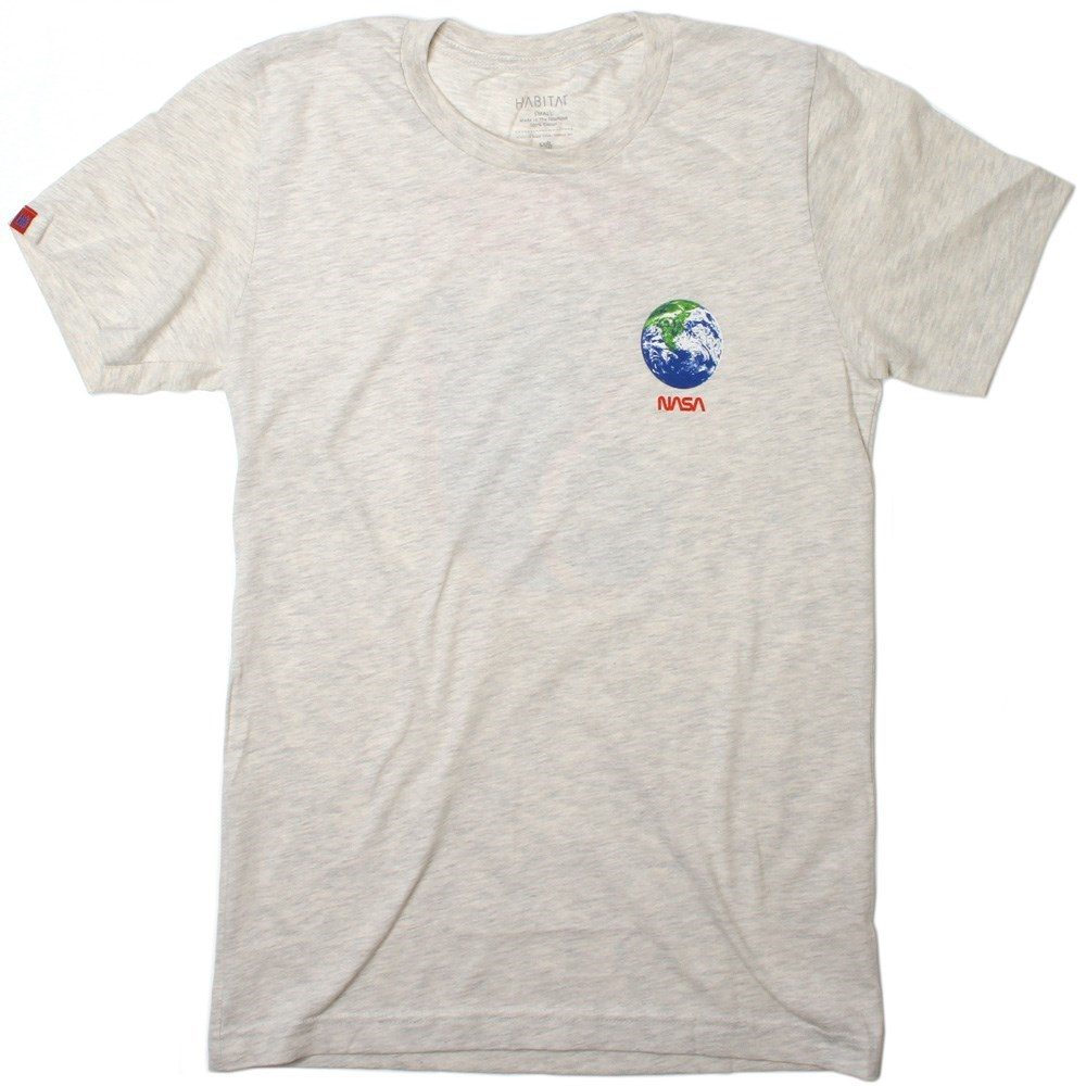 Buy Habitat NASA Earth Observer S/S T-Shirt - Tan Heather