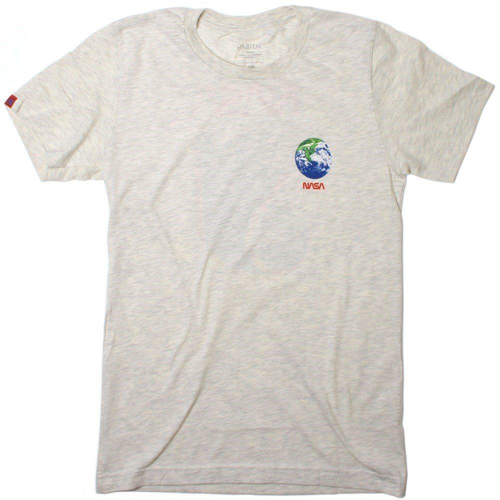 Buy Habitat NASA Earth Observer S/S T-Shirt - Tan Heather