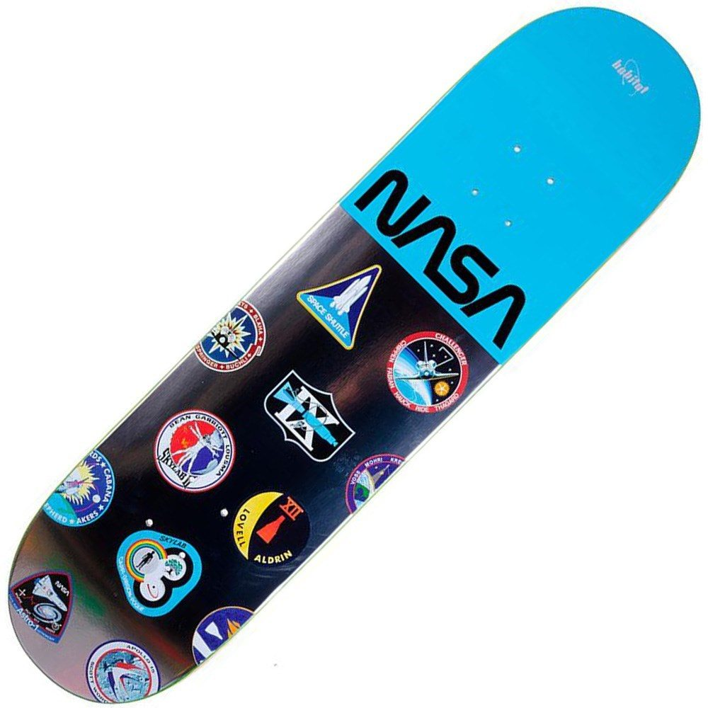 Buy Habitat NASA Logo Array 8.25inch Skateboard Deck