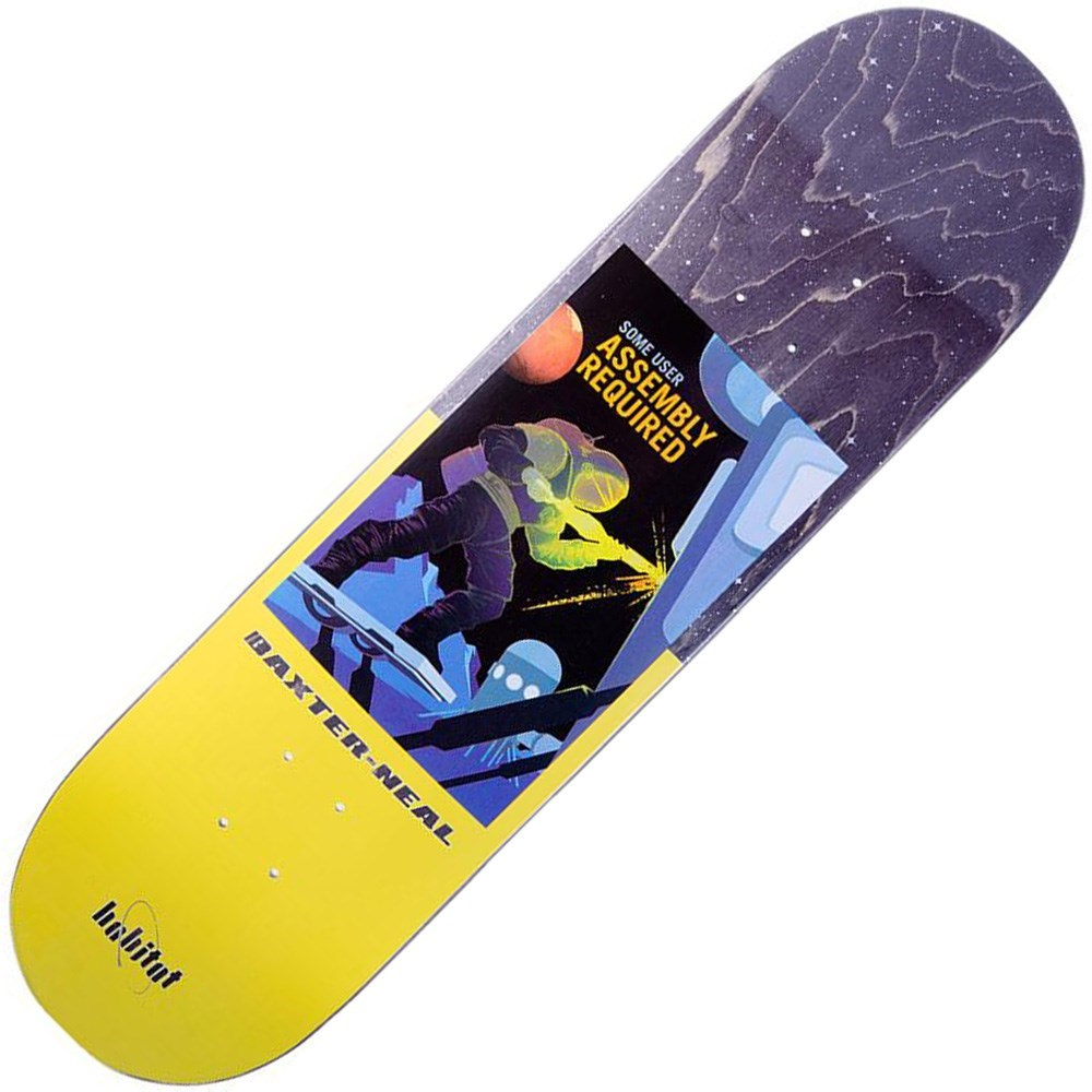 Buy Habitat Silas NASA 8.25inch Skateboard Deck
