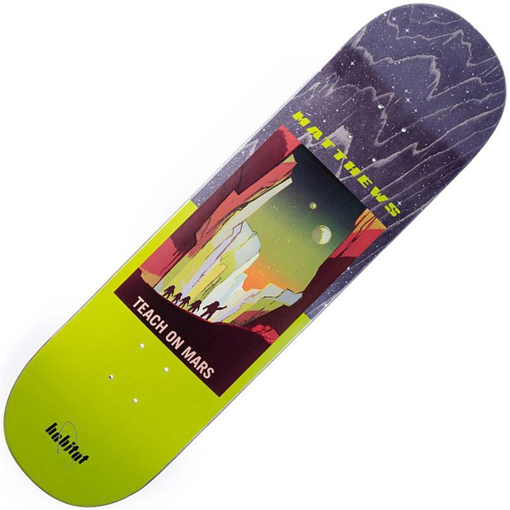 Buy Habitat Matthews NASA 8.5inch Skateboard Deck