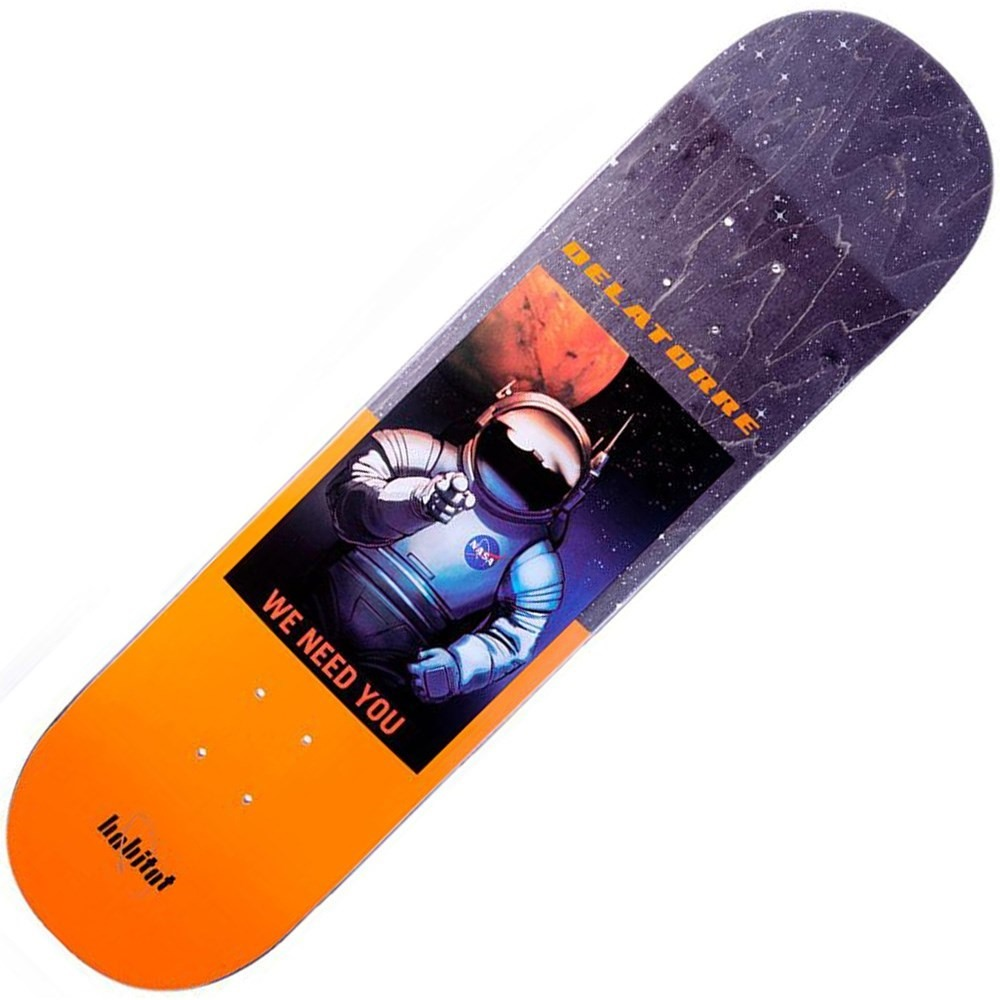Buy Habitat Delatorre NASA 8.18inch Skateboard Deck
