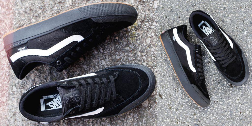 Vans Berle Pro black skate shoe