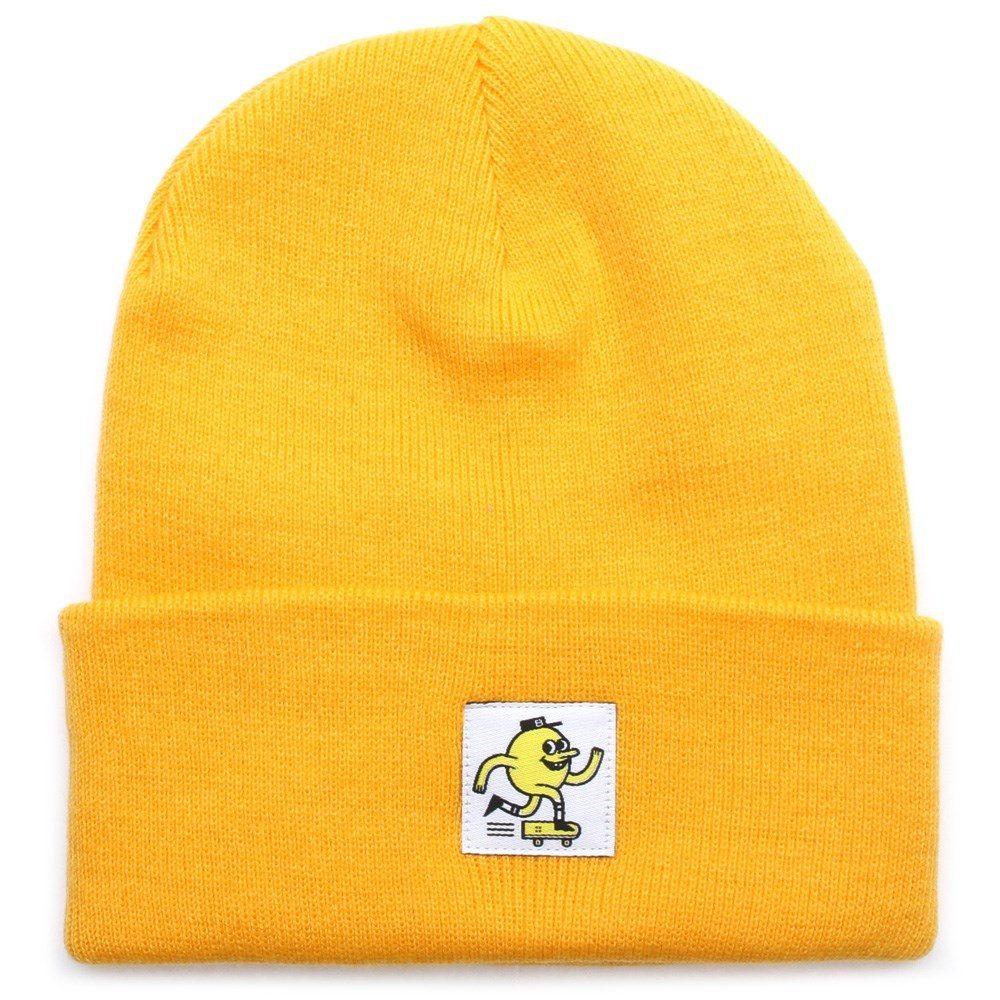 Blast Skate Logo beanie yolk yellow