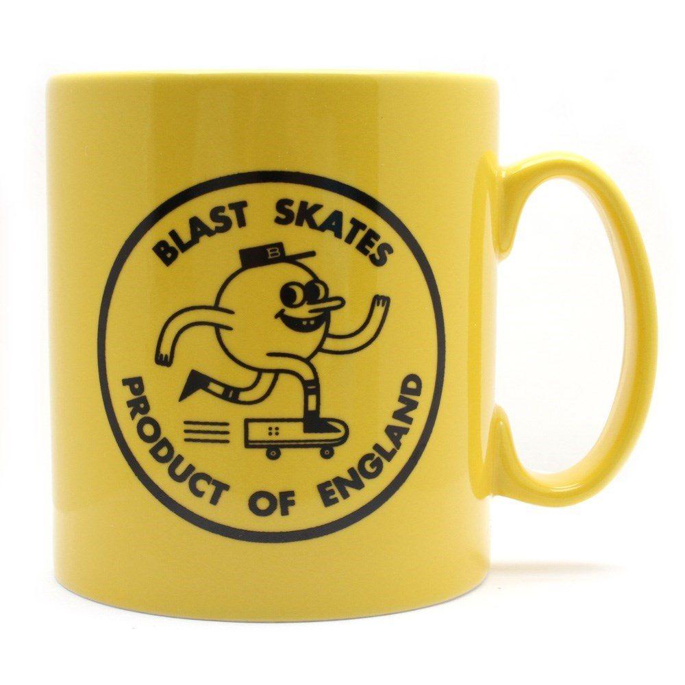 Blast Skate yellow logo mug